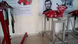 Mahindra tractors:-hydrolic housing,nef engine,mdi engine.