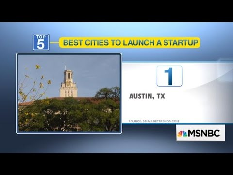 5 Cities For Growing Your Startup by OPEN Forum