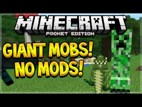 Minecraft how to summon giant mobs no mods