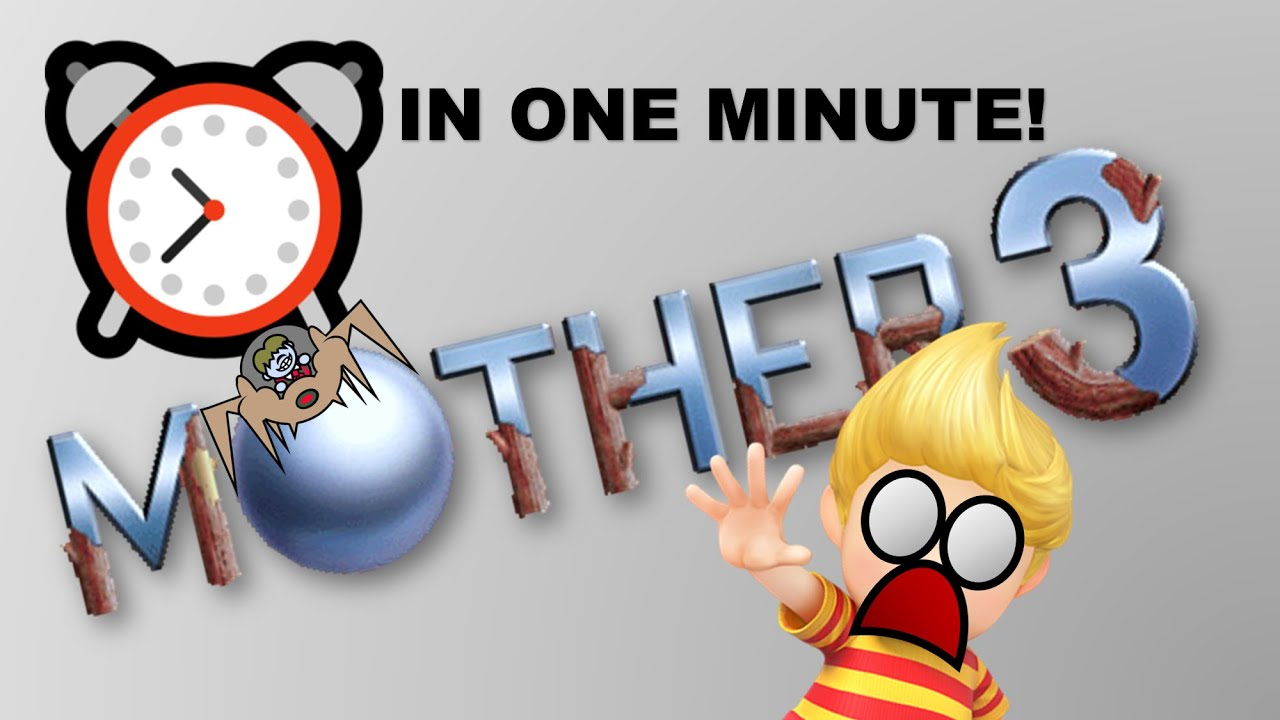 MOTHER 3 in a minute (The Story of Lucas)