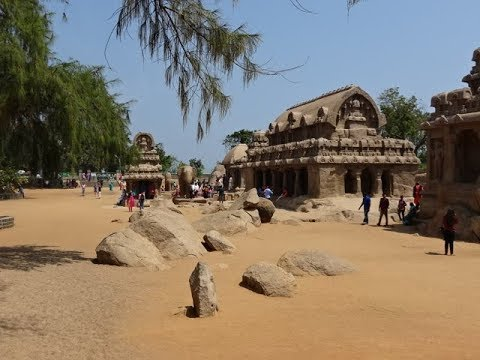 Group of Monuments at Mahabalipuram, UNESCO World Heritage Site, Tamil Nadu, India