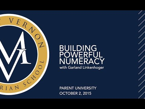 Building Powerful Numeracy With Parent University: Grades 3-6 Math