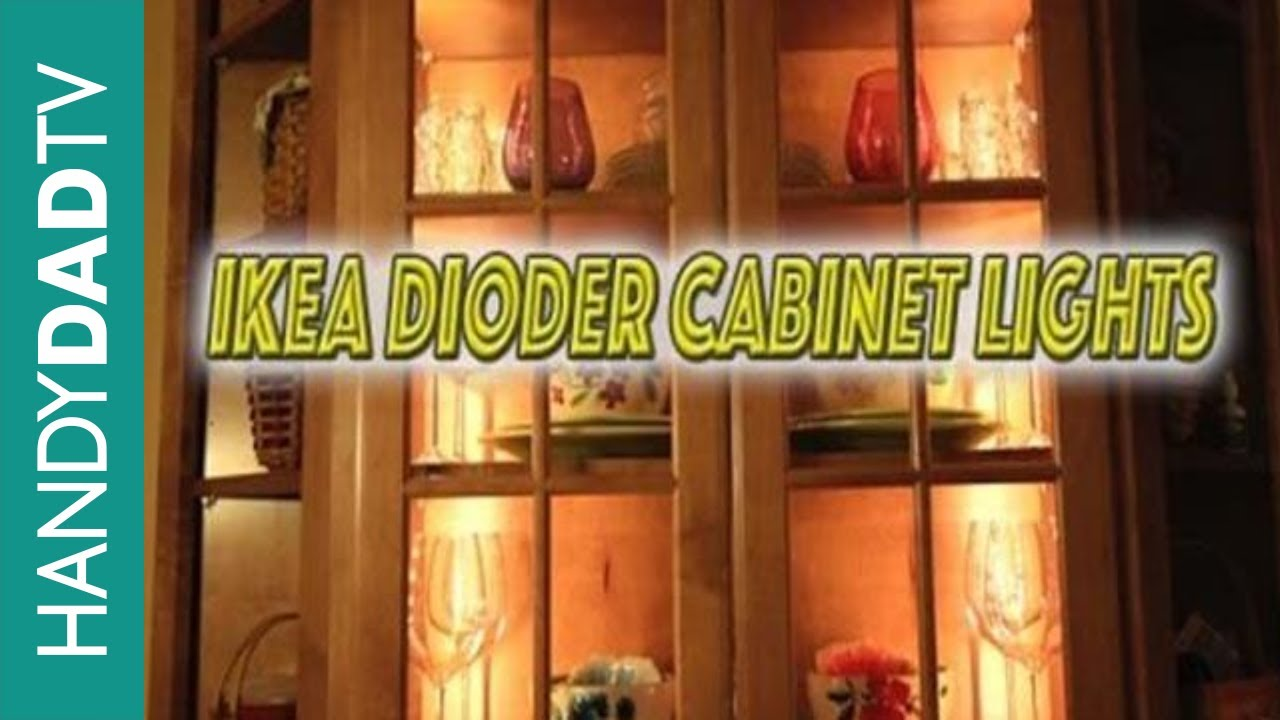 Exceptionnel IKEA Dioder Cabinet Lights