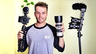 WHAT'S IN MY CAMERA BAG (2019 Edition)