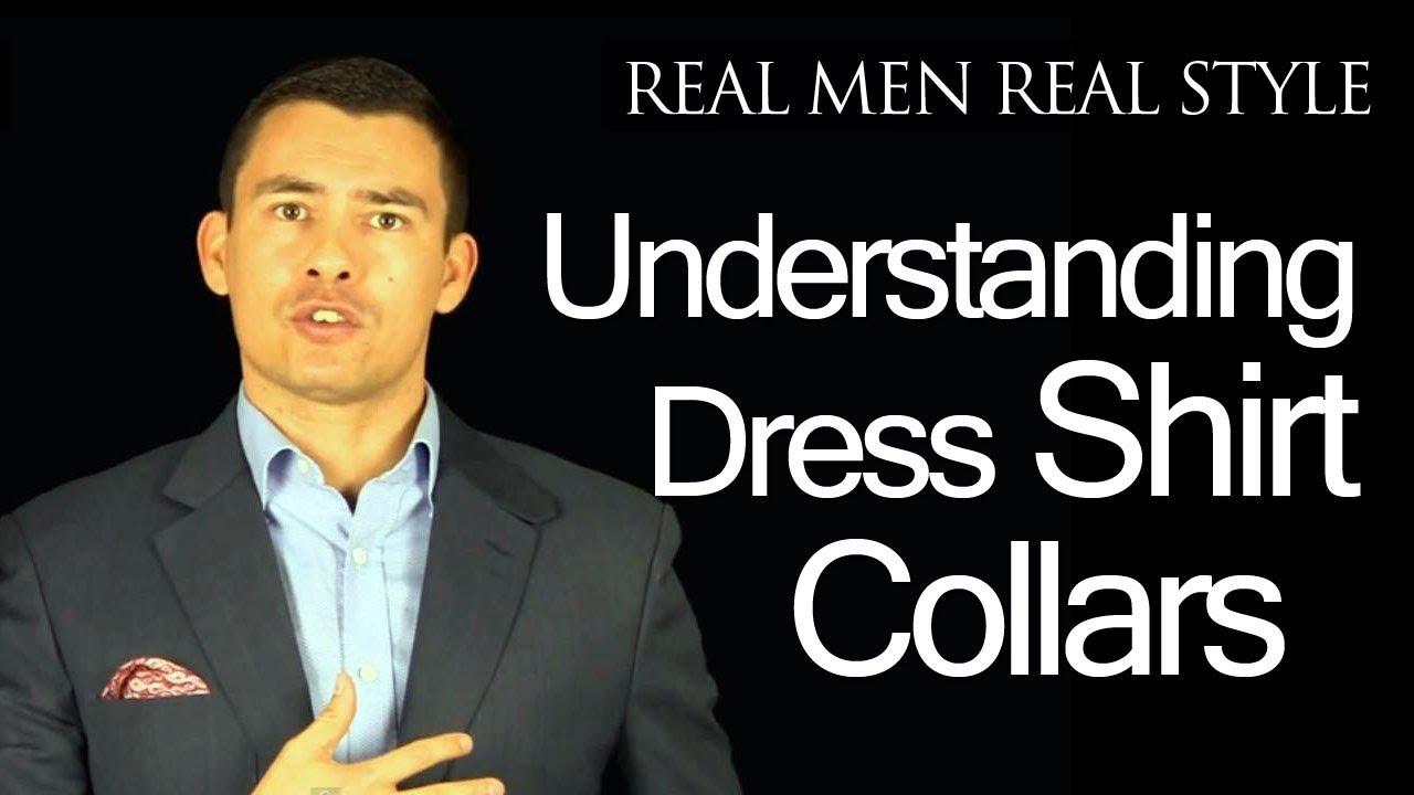 Men 39 S Dress Shirt Collar Overview Video Guide Point