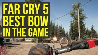 Far Cry 5 Best Bow In The Game & HOW TO USE IT - Recurve Bow (Far Cry 5 Best Weapons - Farcry5 )