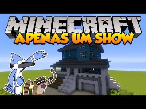 Minecraft: Como construir a casa de Apenas um Show (Regular Show)