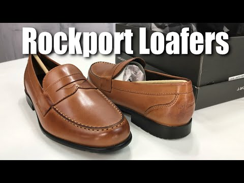7a07511b75c Rockport Men s Classic Leather Penny Loafer Shoe In Cognac Review ...