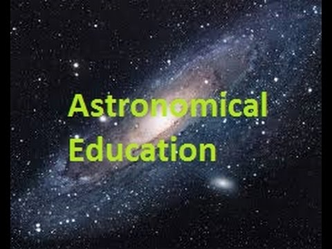 Astronomical Education 1 (Our local galactic cluster.)
