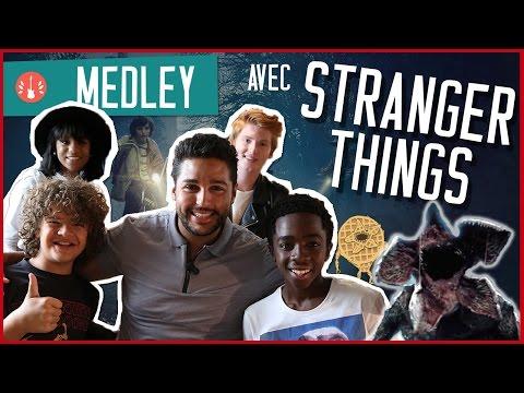 [MEDLEY] On chante avec les acteurs de STRANGER THINGS