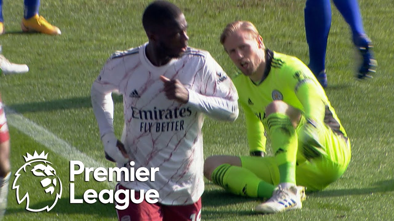 Nicolas Pepe doubles Arsenal lead against Leicester City | Premier League | NBC Sports