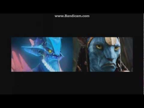 видео: На кого похожи герои из dota 2