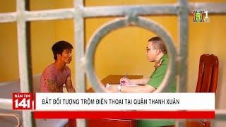 Bắt đối tượng trộm điện thoại tại quận Thanh Xuân | Tin nóng | Tin tức 141