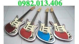 Nhạc cụ nụ hồng bán đàn guitar cổ điện phím lõm