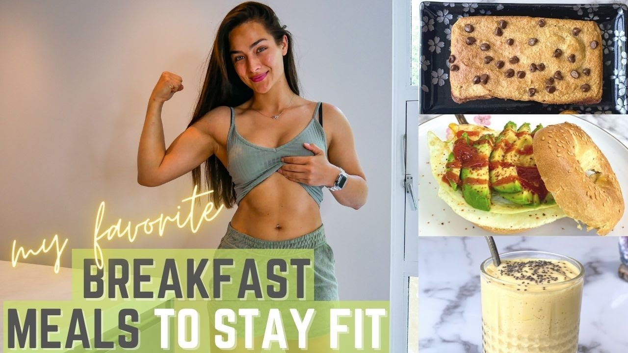 3 BREAKFAST RECIPES to STAY FIT + macros & taste test