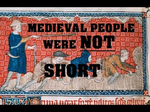 Medieval people were NOT short