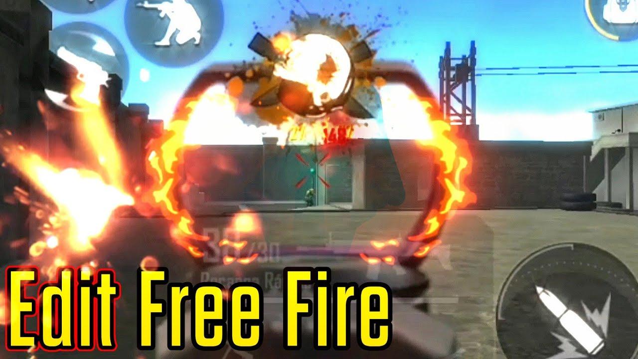 Edit Free Fire  | Movimentação Emulador | highlights - Samsung A30