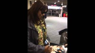 Anita Pointer THE POINTER SISTERS Signing Autographs Team D
