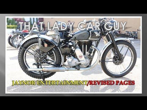 1948 Matchless G80-C (British) - Motorcycle Mondays S2E12 - That Lady Car Guy