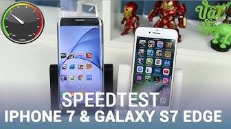 Vật Vờ| So sánh hiệu năng iPhone 7 & Galaxy S7 Edge