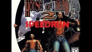 The House of the Dead 2 - SPEEDRUN in 21min, 57sec  [NO RAPIDFIRE] [PC - MOUSE]