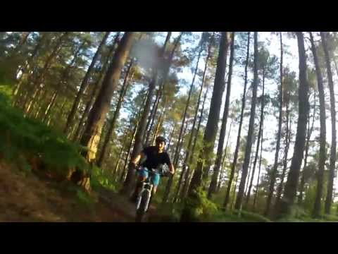 Surrey Singletrack, Evian, Rear Seat Post Camera