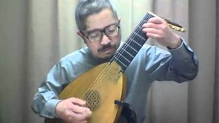 "Mozart / No.7 of  ""9 German Dances""  - K.600 no.2, M.Okazawa(Lute)"