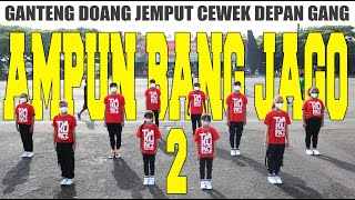 Download AMPUN BANG JAGO 2 | TIAN STORM X EVER SLKR | CHOREOGRAPHY | DANCE FITNESS | HIPHOP | ZUMBA