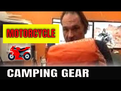 Packing Your Motorcycle for Long trips