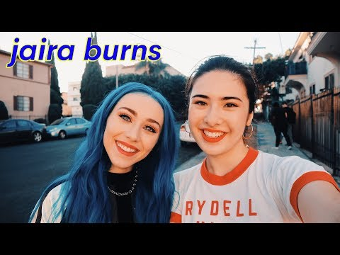 JAIRA BURNS Interview- bullying, dyeing hair, early struggles, sign w/ interscope