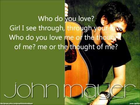 John Mayer - I Don't Trust Myself