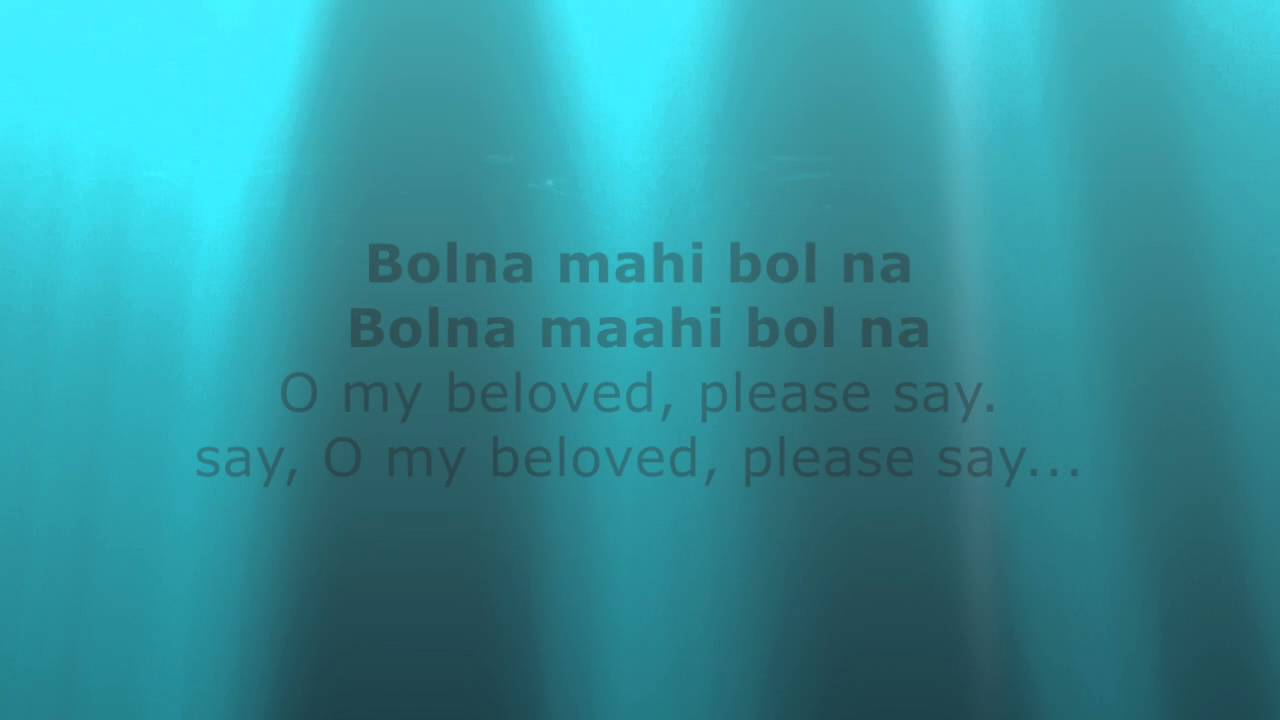 Bolna-Kapoor and Sons Lyrics with English Translation ...
