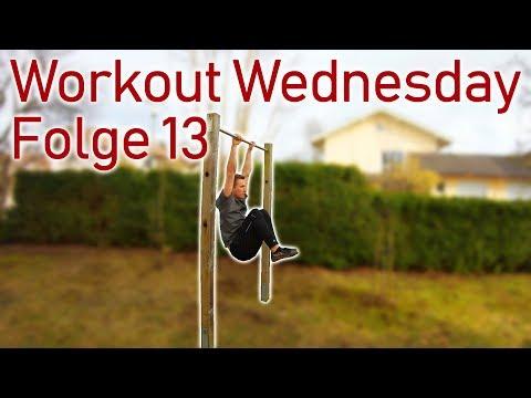 Workout Wednesday Folge 13 - Übungen für den Schweizer, Ringe und Reck