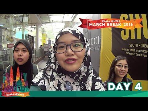 Kuala Lumpur March Break 2016   Day 4 - Sungei Wang + 1 Utama