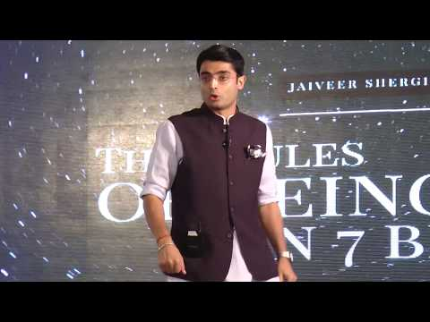 7 Rules of Being One in 7 billion | Jaiveer Shergill | TEDxY