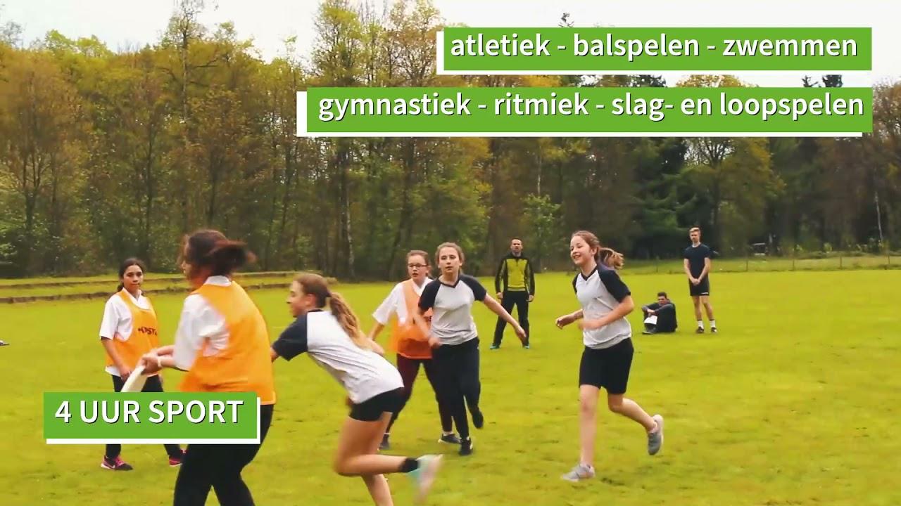 NIEUW: Sportwetenschappen (ASO)