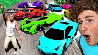 Collecting RARE Billionaire SUPERCARS In GTA 5.. (Mods)