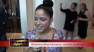 A visit with actress Veronica Diaz-Carranza