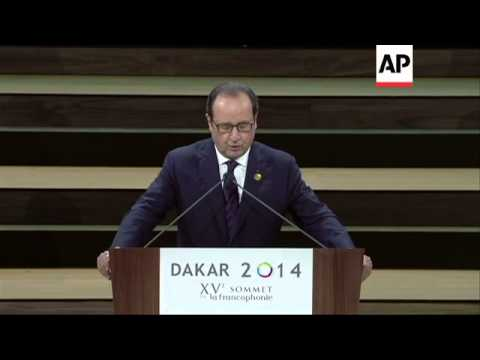 15th Francophonie Summit gets underway in Senegal
