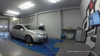 VW Golf 5 2.0 TDI 140cv DSG Reprogrammation Moteur @ 173cv Digiservices Paris 77