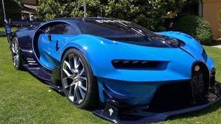 Bugatti Vision Gran Turismo on display at Villa d'Este Concours d'Elegance