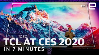 TCL press conference at CES 2020 in 7 minutes