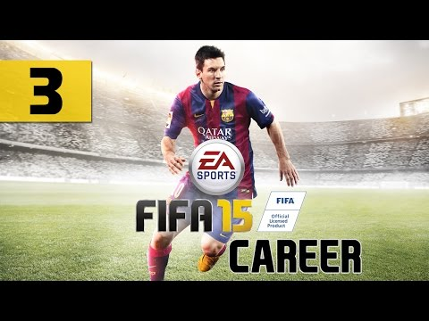 "FIFA 15 - Career - Let's Play - Part 3 - [Friendly, Vs. Adelaide United] - ""First Hat Trick"""