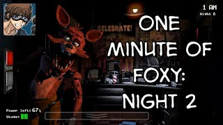 One Minute of Foxy: Night 2