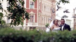 Свадьба Паши и Оли. Платье от Натали Таушер