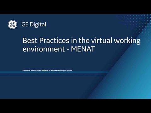 Best Practices in the Virtual Working Environment