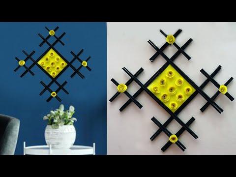 DIY Paper Craft Idea !!! Wall Hanging Craft Ideas    DIY ROOM DECOR