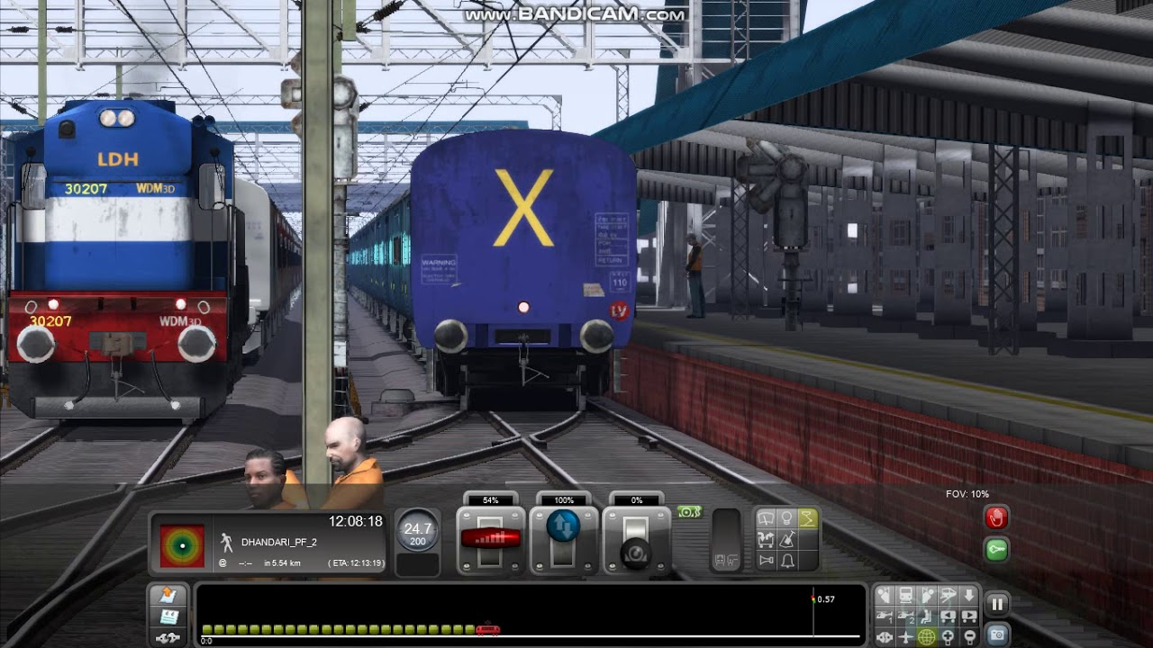 PC GAME Railworks train simulator 2017 Indian Addons AI Train huled