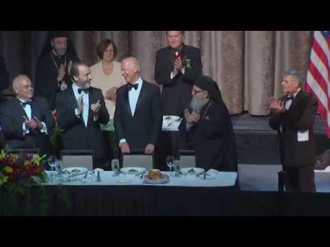 Vice President Joe Biden receives Athenagoras Human Rights Award