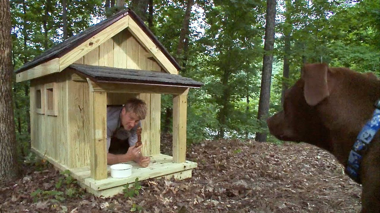 dog house plans for large breed - youtube